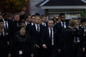 Ndidi Attends Vichai's Funeral In Thailand