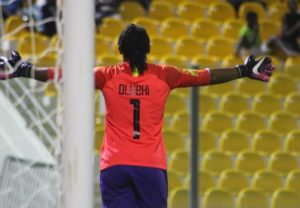 Goalkeeper Oluehi The Heroine Once Again As Super Falcons Beat South Africa To Lift AWCON For the 10th Time