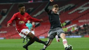 14 Year Old Nigerian Winger Shola Named In Manchester United Squad For UCL Tie With Valencia