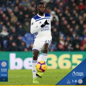 Ndidi Makes 16th Start In Leicester's Loss; Iheanacho, Success Play As Sub