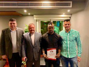 Al Masry complete signing of Nigerian forward Austin Amutu