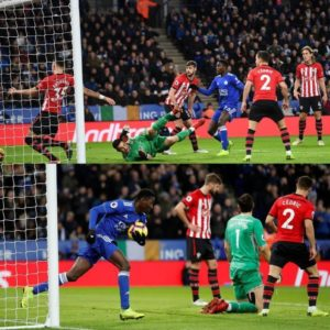 Ndidi Bags 2nd Goal Of Season In Leicester Defeat; Iheanacho, Balogun, Success Benched