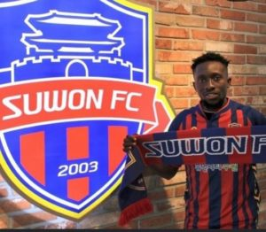 Egbuchulam Joins South Korean Club Suwon FC