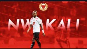 Nwakali Signs 4-Year Deal With Swedish Club Kalmar