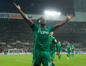 Success Savours Goal, Watford Win Against Newcastle