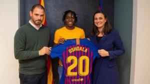 Exclusive! Asisat Oshoala joins Barcelona