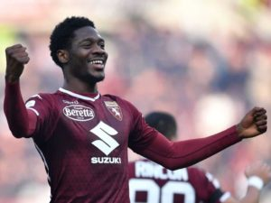 Ola Aina impresses off the bench in Europa League defeat