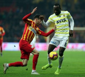 Moses Bags First Fenerbahce Defeat, Yellow Card Vs Kayserispor
