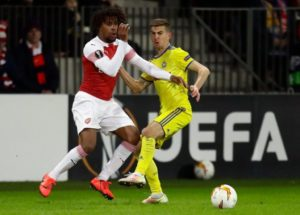 Europa League Highlight: Iwobi Stars In Arsenal Win; Moses, Odey Crash Out With Fenerbahce, Zurich, Chukwueze Not Listed By Villarreal