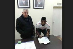Akwa United midfielder Michael Ibe joins Jordanian League side Al-Karmel on a two year deal