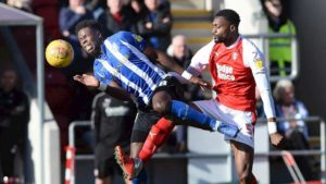 Championship: Iorfa Scores On Wednesday Debut Vs Ajayi's Rotherham; Etebo Stars In Stoke's Away Draw