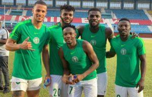 Omeruo, Iwobi, Ekong, Ndidi Are Back As Nigeria Unveil Starting XI Vs Cameroon