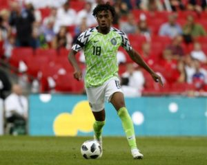 Alex Iwobi focuses on Arsenal after Afcon bronze feat with Super Eagles