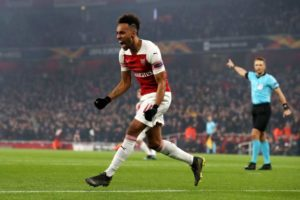 Iwobi Subbed On As Aubameyang's Double Sends Arsenal Through; Chukwueze's Villarreal Also Qualify For Q-Finals