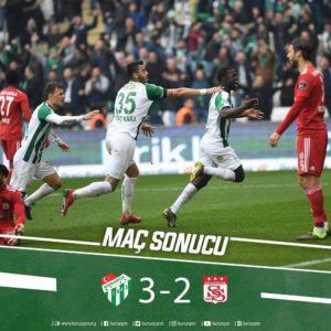 Abdullahi On Target As Bursaspor Clinch First Win In 2019