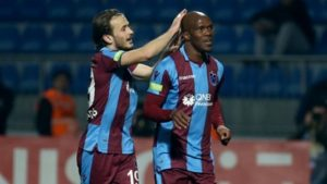 Nwakaeme To Pocket €100,000 Bonus At Trabzonspor