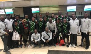 U-23 Eagles Off To Tunisia For AFCON Qualifier Vs Libya