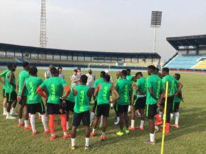Super Eagles planning Early Egypt Camping