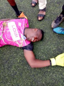 Idoko Wants Sunshine Sanctioned For Alleged Attack of Lobi Stars Goalie Egbe