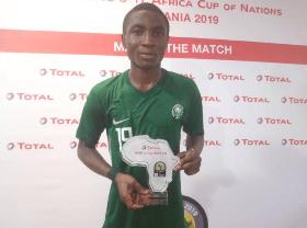 Jabaar Named Man Of The Match In Golden Eaglets Draw Vs Uganda