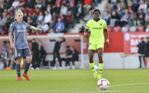 Oshoala Thrilled To Defy Injury, Back In Action For Barcelona Ladies