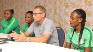 Super Falcon coach Dennerby drops Provisional Squad Ahead of 2019 World Cup