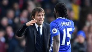 Conte Demand Signing Of Victor Moses As Part Of Conditions To Coach Inter-Milan
