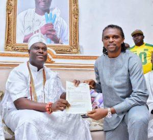 Ooni of Ife Applauds Kanu's Humanitarian Works Through KHF