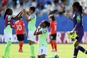 Asisat Oshoala hope Falcons get points against France