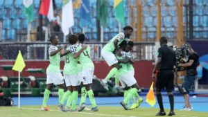 Rohr Satisfied With Eagles' Performance In Win Against Guinea