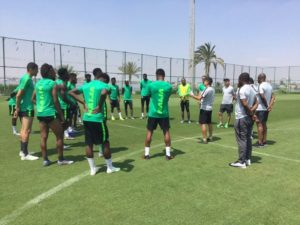 Pre -AFCON  Friendly: Super Eagles To Adopt 3-5-2 Formation Vs Senegal
