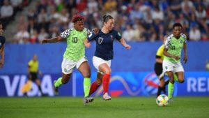 Oliseh Celebrates Falcons after France defeat