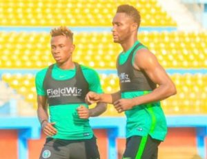 Super Eagles First Training Session In Alexandria