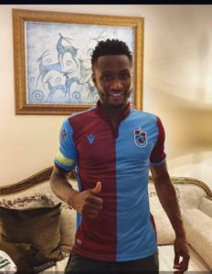 Exclusive: Super Eagles Skipper Mikel Turkish Side Trabzonspor