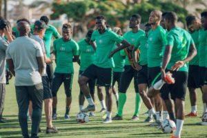 Super Eagles To Resume Training On Sunday for Bafana Bafana Clash