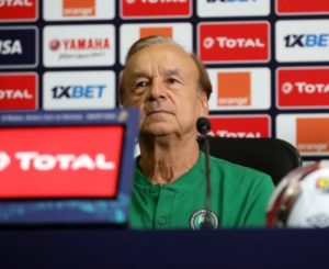 Gernot Rohr reflects on last-gasp defeat