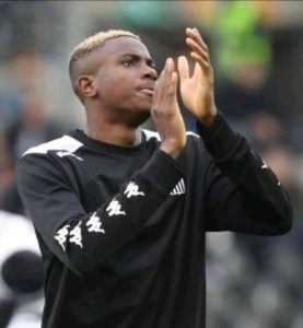 Osimhen To Undergo Medical Tests At Lille This Week