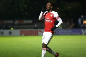 Nigerian youngster scores six-minute hat-trick for Arsenal