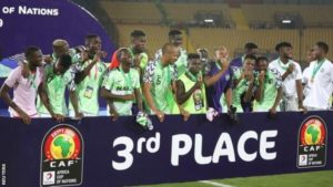 Super Eagles move 12 spots, now 33rd in the latest Fifa Rankings
