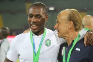Gernot Rohr vows to bring Odion Ighalo back to Super Eagles