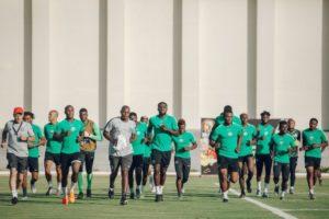 Super Eagles to train behind closed door ahead of Cameroon Clash