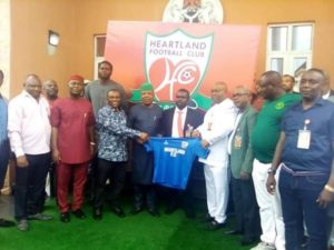 Exclusive: Ilechukwu Unveiled As Heartland Coach