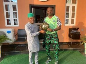 Imo Governor Appoints Kanu Nwankwo As Assistant On Sports