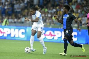 Okereke, Blessed In Action As Brugge Hold Dynamo Kiev To Seal UCL Playoffs Spot
