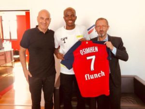 Osimhen excited to join Lille's project