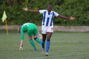 Falcons forward inspires Brighton to victory against Coleman's Valencia in Spain