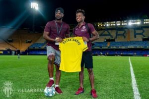 Chukwueze, Villareal Receive Peter PSquare During Laliga Thriller Vs Granada