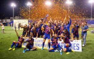 Oshoala scores as Barcelona win regional Cup
