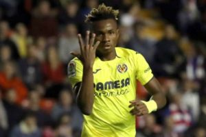 Samuel Chukwueze scores for Villarreal in eight-goal thriller against Granada