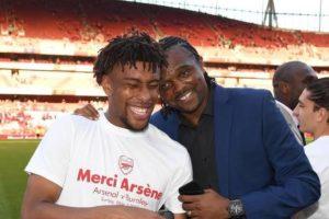 Arsenal Legend Kanu Wishes Iwobi Good Luck At Everton